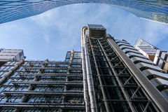 LONDON/UK - MARCH 7 : View of the Lloyds of London Building on M. Arch 7, 2015 Stock Photography
