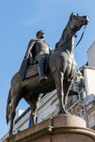 LONDON/UK - MARCH 7 : View of the Statue of Wellington at the Ro Stock Image
