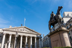 LONDON/UK - MARCH 7 : View of the Statue of Wellington at the Ro Royalty Free Stock Photo