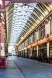 LONDON/UK - MARS 7: Sikt av den Leadenhall marknaden i London på Mars Royaltyfri Fotografi
