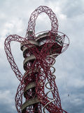LONDON/UK - MAY 13 : The ArcelorMittal Orbit Sculpture at the Qu Stock Photos