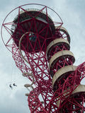 LONDON/UK - MAY 13 : The ArcelorMittal Orbit Sculpture at the Qu Stock Photo