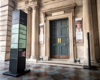 The Courtauld Gallery, Somerset House, London stock photography