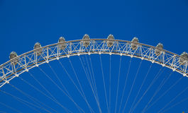 LONDON, UK - MAY 14, 2014 - London eye is a giant Ferris wheel opened Royalty Free Stock Photos