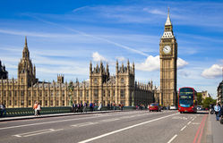 LONDON, UK - MAY 14, 2014 - London eye is a giant Ferris wheel opened Royalty Free Stock Photo