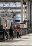 LONDON, UK - MAY 14, 2014 - Waterloo international station Stock Photo