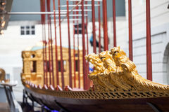 LONDON, UK, National Maritime Museum in Greenwich, interior details Royalty Free Stock Photos