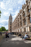 LONDON, UK, Natural History museum - building and details Royalty Free Stock Image