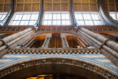 LONDON, UK, Natural History museum - building and details Royalty Free Stock Photo