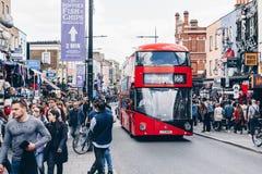 London, UK - 2nd of April, 2017: Camden Lock Village, famous alt Stock Image