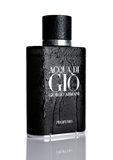 LONDON,UK - NOVEMBER 11, 2016: Giorgio Armani, Acqua di Gio fragrance for men is one of the evergreen bestselling perfumes worldwi Royalty Free Stock Photography
