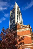 Strata SE1 building at Elephant and Castle in the London Borough royalty free stock photos