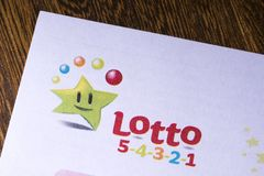 Irish National Lottery logo royalty free stock photography