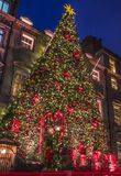 Annabels in Mayfair at Christmas royalty free stock photo