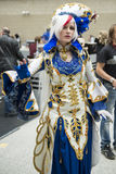 LONDON, UK - OCTOBER 26: Anime cosplayers in the Comicon at the Stock Photography