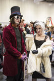 LONDON, UK - OCTOBER 26: Cosplayers dressed as Charlie from the Stock Image