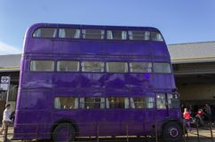 London UK; Oktober 23, 2013; Warner Bros Studios London turnerar, med uppsättningarna och det original- materialet av de Harry P royaltyfri foto