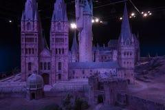 London UK; Oktober 23, 2013; Warner Bros Studios London turnerar, med uppsättningarna och det original- materialet av de Harry P arkivfoto