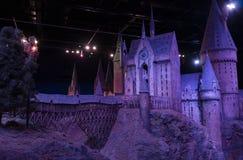 London UK; Oktober 23, 2013; Warner Bros Studios London turnerar, med uppsättningarna och det original- materialet av de Harry P royaltyfri bild