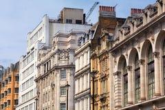 London Regent Street. London, UK - old architecture of Regent Street Stock Photos