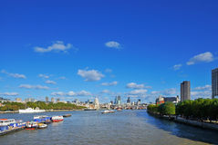 London UK panorama Royalty Free Stock Images