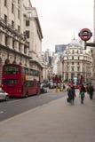 London, UK, Poultry Street Stock Photo