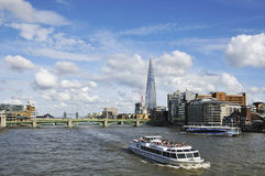 London UK and river Stock Photography