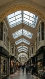 The Burlington Arcade. stock photo