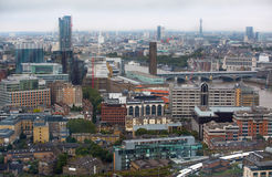 LONDON, UK - SEPTEMBER 17, 2015: City of London panorama Stock Images