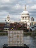 LONDON/UK - SEPTEMBER 12 : Floating Dreams by Ik-Joong Kang on t Royalty Free Stock Image