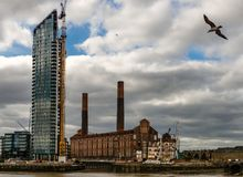 The Battersea Power Station. royalty free stock images