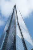 LONDON, UK - September 29: The Shard, the controversial landmark Royalty Free Stock Photo