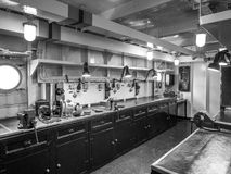 LONDON/UK - SEPTEMBER 12 : Workshop on HMS Belfast  in London on Royalty Free Stock Photography