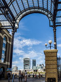 LONDON/UK - 12 SEPTEMBRE : Vue de la vieille et moderne architecture f Photos stock