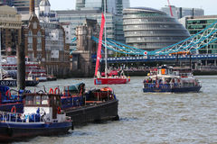 London, UK. 1st September, 2013. The Clipper Round the World Yac Stock Photos