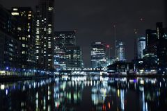 London UK 02/12/2017 Staden av de Europa bankledarna Fotografering för Bildbyråer