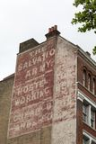 Salvation Army advert on building in London Stock Image