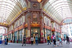 Leadenhall Market in London Stock Images