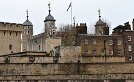 The Tower of London. London, United Kingdom. royalty free stock photography