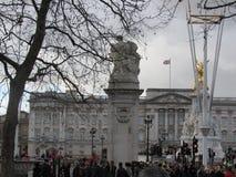 London UK - Westminster slott Arkivbild