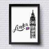 London und Big Ben Lizenzfreie Stockfotografie