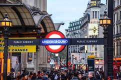 London-undeground Lizenzfreies Stockfoto