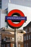 London Undeground posterar royaltyfria foton