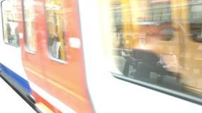 London Undergound stock video footage