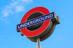 London underground logo Stock Photography