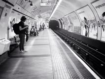 London Underground. Royalty Free Stock Photo