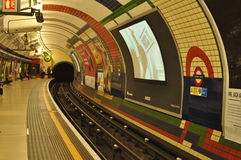 London Underground. One of the exciting things about visiting London is to take the tube. In fact, there are over 270 stations and was the world's very first Royalty Free Stock Images