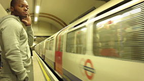 London Underground stock footage