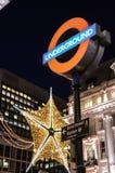 London Underground Sign Royalty Free Stock Photo