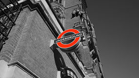 London Underground Sign Stock Image